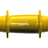 Track rear hub in Yellow Anodized
